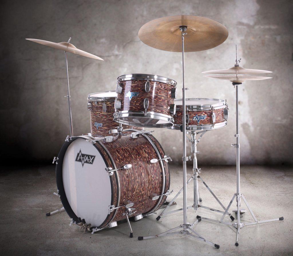 Mal Holmes OMD Drummer 1st Ajax Kit