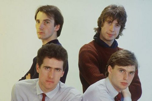 1981 Photoshoot with Mal Holmes OMD Drummer